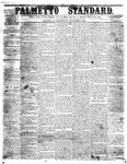 The Palmetto Standard- September 8, 1852 by C Davis Melton