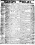 The Palmetto Standard- September 15, 1852 by C Davis Melton