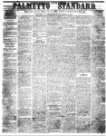 The Palmetto Standard- September 29, 1852 by C Davis Melton