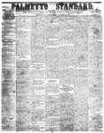 The Palmetto Standard- October 20, 1852 by C Davis Melton