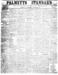 The Palmetto Standard- October 27, 1852 by C Davis Melton