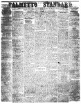 The Palmetto Standard- November 3, 1852 by C Davis Melton