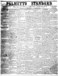 The Palmetto Standard- November 10, 1852 by C Davis Melton