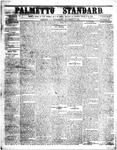 The Palmetto Standard- November 17, 1852 by C Davis Melton