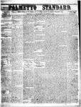 The Palmetto Standard- November 24, 1852