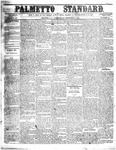 The Palmetto Standard- December 1, 1852 by C Davis Melton