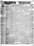 The Palmetto Standard- December 8, 1852 by C Davis Melton