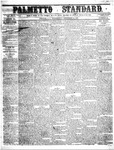 The Palmetto Standard- December 15, 1852 by C Davis Melton
