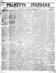 The Palmetto Standard- December 22, 1852 by C Davis Melton