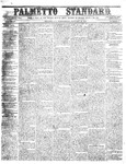 The Palmetto Standard- January 26, 1853 by C. Davis Melton