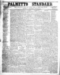 The Palmetto Standard-  March 30, 1853