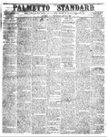 The Palmetto Standard- June 2, 1853 by C. Davis Melton