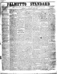 The Palmetto Standard- July 7, 1853 by C. Davis Melton