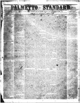 The Palmetto Standard- August 4, 1853