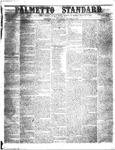 The Palmetto Standard- August 11, 1853 by C. Davis Melton