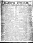 The Palmetto Standard- August 18, 1853 by C. Davis Melton