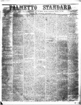 The Palmetto Standard- September 15, 1853