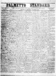 The Palmetto Standard- December 8, 1853 by C. Davis Melton