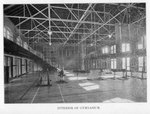 Interior of Peabody Gymnasium by Winthrop University and Clarence H. and Anna E. Lutz Foundation