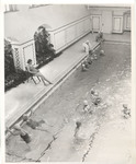 Students Swimming in Peabody Gymnasium Pool 1953 by Winthrop University