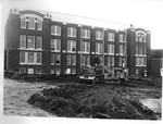 Groundbreaking for New Peabody Gymnasium Pool 1975 by Winthrop University