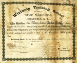 1887 - Fourteen Students Graduated at Winthrop's First Commencement