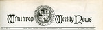 1915 - Winthrop Weekly News, College's First Newspaper, Published