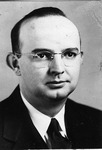 1961 - Dr. Harold B. Gilbreth Receives First Distinguished Professor Award