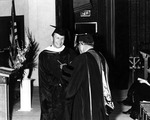 1969 - Walter Schrader Becomes First Male to Receive a Winthrop Degree by Winthrop University