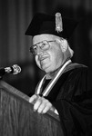 1984 - Former Governor John C. West Receives First Winthrop Medallion to Commemorate Tenth Anniversary of Coeducation by Winthrop University