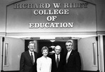 2000 - Winthrop College of Educations Renamed Richard W. Riley College of Education Ceremony