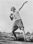 2005 - Lucile Godbold at First International Track Meet in 1922 by Winthrop University