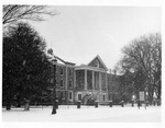 Phelps Hall in Snow, 1950s