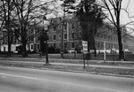 View of Phelps Hall from Oakland Ave After Addition 1964