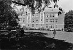 View of Phelps Hall from Front Campus, 1967