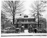 President's House in the Snow December 24, 1947
