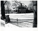 President's House in the Snow ca1960s by Winthrop University
