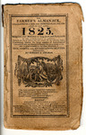 Farmer's Almanack 1825 by AY 81 .F3 .T5x and Robert B. Thomas