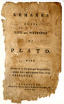 Remarks on the Life and Writings of Plato