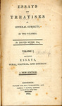 Essays and Treatises on Several Subjects - Vol. 1 by B 1455 .A5 1804x v. 1 and David Hume Esq.