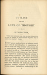 An Outline of the Necessary Laws of Thought