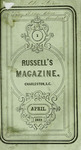 Russell's Magazine - Vol. 5 - 1859 by AP 2 .R97 vol. 5 and Paul Hamilton Hayne