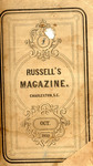 Russell's Magazine - Vol. 6 - 1859-1860 by AP 2 .R97 vol. 6 and Paul Hamilton Hayne