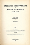 Internal Improvement in South Carolina, 1817-1828