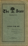 The State Index 1892 - 1901 by AI 21 .S7 Index 1892-1901 and State (SC) Newspaper