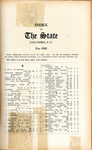 The State Index 1903 - 1912 by AI 21 .S7 Index 1903-1912 and State (SC) Newspaper