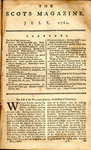 The Scots Magazine 1761 by AP 3 .S35 vol. 23 1761 and Scots Magazine
