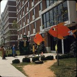 Come See Me Decorations Outside of Richardson Hall, late 1960s by Winthrop University