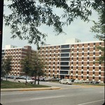 Richardson Hall Exterior on Right, late 1960s by Winthrop University