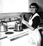 Home Management Student Cooking December 28, 1954 by Winthrop University
